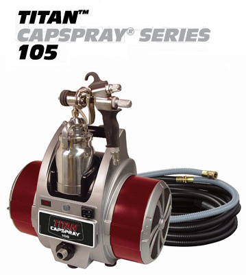 Titan Capspray 105 HVLP Fine Finish Sprayer