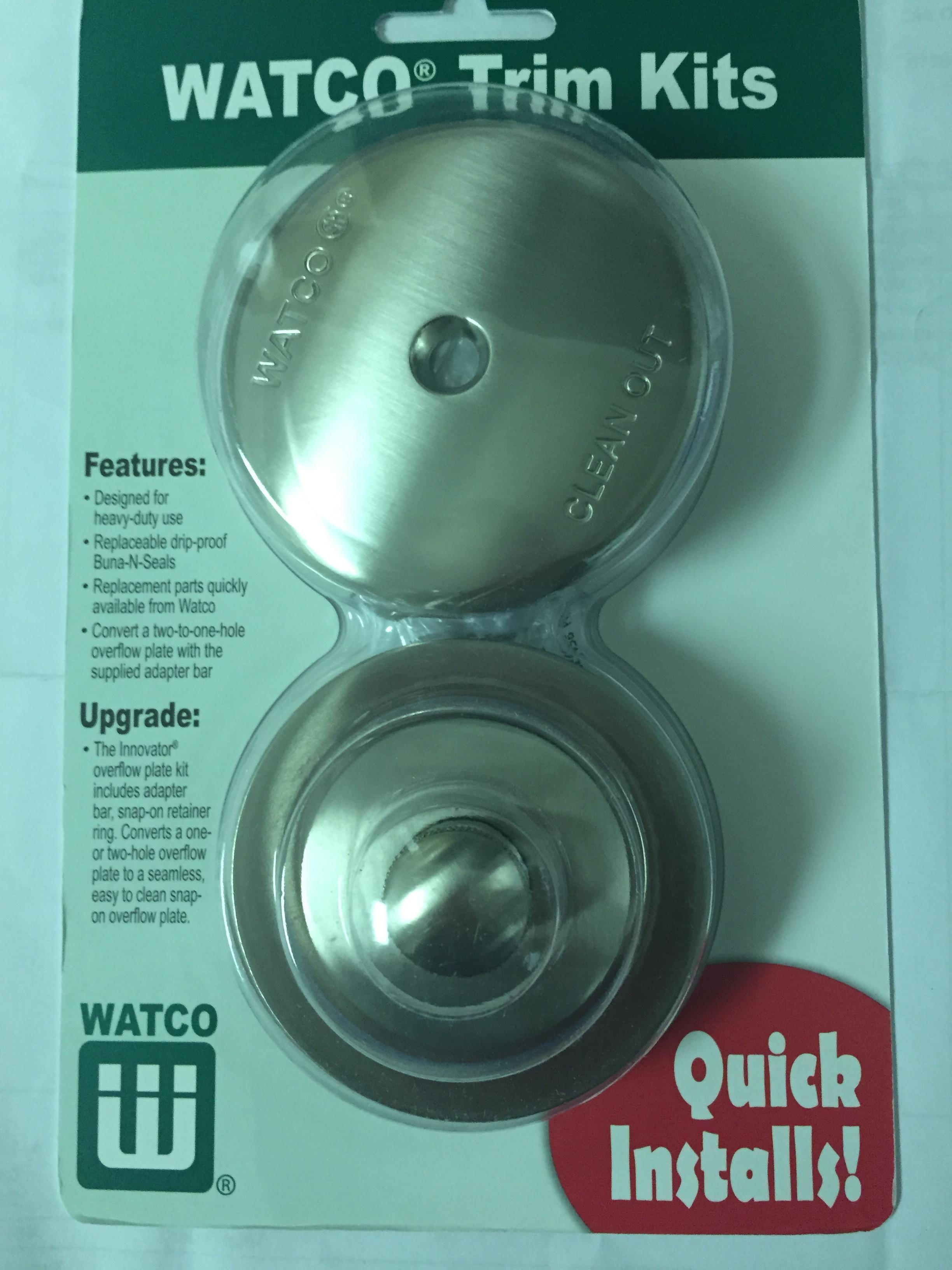 Nufit- Lift and Turn Trim Kit BRUSH NICKEL: Bathtub refinishing ...