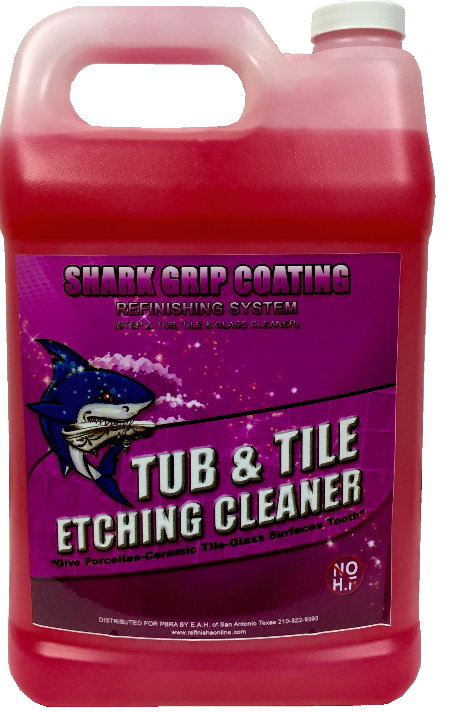 STEP 2  Porcelain Ceramic Glass Etching Cream Cleaner Bathtub Refinishing 1  GAL